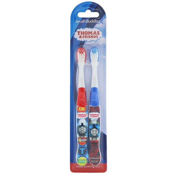 Brush Buddies, Thomas & Friends Toothbrush, 2 Pack