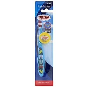 Браш Баддис, Thomas & Friends, Travel Kit, Soft, 1 Toothbrush With Cap отзывы