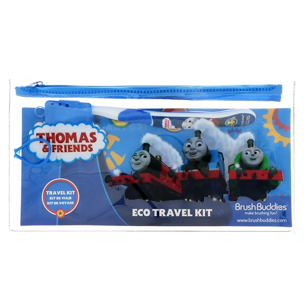 Brush Buddies, Thomas & Friends, kit de viaje ecológico, kit de 2 piezas (Discontinued Item)