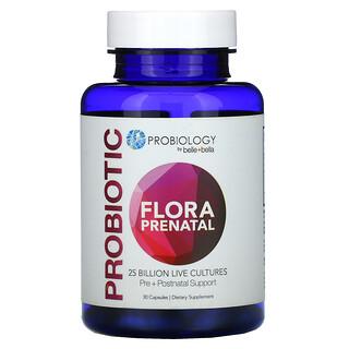 Belle+Bella, Probiology, Probiotic Flora Prenatal, 25 Billion CFU, 30 Capsules