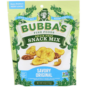 Bubba's Fine Foods, Snack Mix, Savory Original, 4 oz (113 g) отзывы покупателей