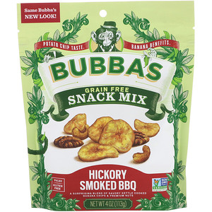 Bubba's Fine Foods, Snack Mix, Hickory Smoked BBQ, 4 oz (113 g) отзывы