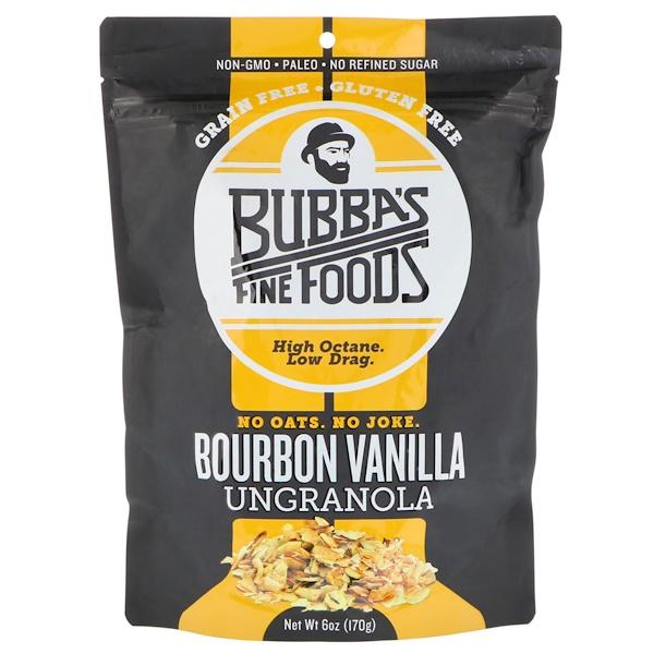 Bubba's Fine Foods, UnGranola, Bourbon Vanilla, 6 oz (170 g)