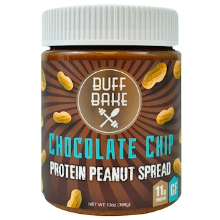 Buff Bake, Protein Peanut Spread, Chocolate Chip, 13 oz (368 g)