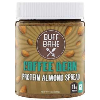 Buff Bake, Coffee Bean Protein Almond Spread, 13 oz (368 g)