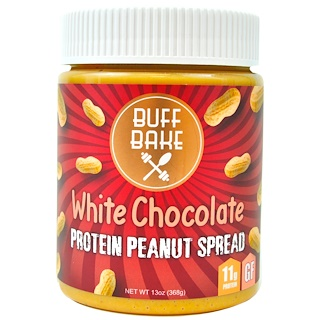 Buff Bake, Protein Peanut Spread, White Chocolate, 13 oz (368 g)