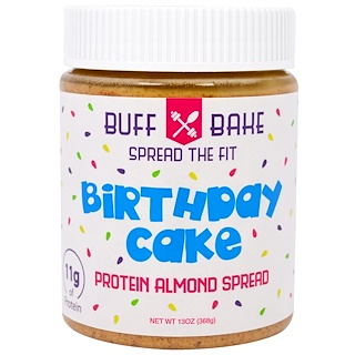 Buff Bake, Birthday Cake Protein Almond Spread, 13 oz (368 g)