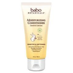 Babo Botanicals, 保濕護髮素,燕麥奶和金盞花,6 液量盎司(180 毫升)