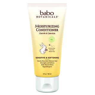 Babo Botanicals, Moisturizing Conditioner, Oatmilk & Calendula, 6 fl oz (180 ml)