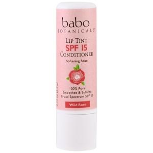 Бабо Ботаникалс, Lip Tint Balm, SPF 15, Wild Rose, 0.15 oz (4.2 g) отзывы