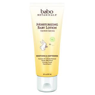 Babo Botanicals, Moisturizing Baby Lotion, Oatmilk & Calendula, 8 fl oz (237 ml)