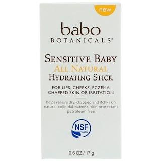 Babo Botanicals, Sensitive Baby, All Natural Hydrating Stick, 0.6 oz (17 g)