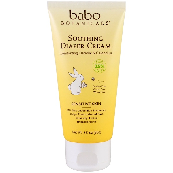 Soothing Diaper Cream, Comforting Oatmilk & Calendula, 3.0 oz (85 g)