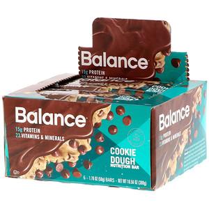 Баланс Бар, Nutrition Bar, Cookie Dough, 6 Bars, 1.76 oz (50 g) Each отзывы покупателей