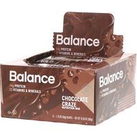 Батончик Здорового Питания, Шоколадная Мания, 6 батончиков, 1,76 унции (50 г) каждый - фото