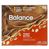 Balance Bar, Nutrition Bar, Peanut Butter, 6 Bars, 1.76 oz (50 g) Each