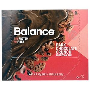 Баланс Бар, Nutrition Bar, Dark Chocolate Crunch, 6 Bars, 1.58 oz (45 g) отзывы