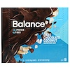Balance Bar, 栄養補給バー、ダークチョコレートココナッツ、6本、各45g (Discontinued Item)