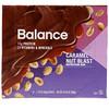 Balance Bar, 栄養補給バー、キャラメルナッツ味、6本、各50g (Discontinued Item)