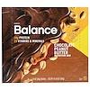 Balance Bar, 栄養補給バー、チョコレートピーナッツバター、6本、各50g