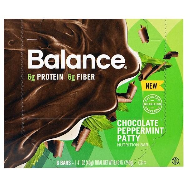 Balance Bar, Батончик Здорового Питания, , 6 батончиков, 1,41 унции (40 г) каждый (Discontinued Item)