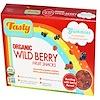 Tasty Brand, Organic Wild Berry Fruit Snack Gummies, 5 Pouches, 0.8 oz (23 g) Each (Discontinued Item)