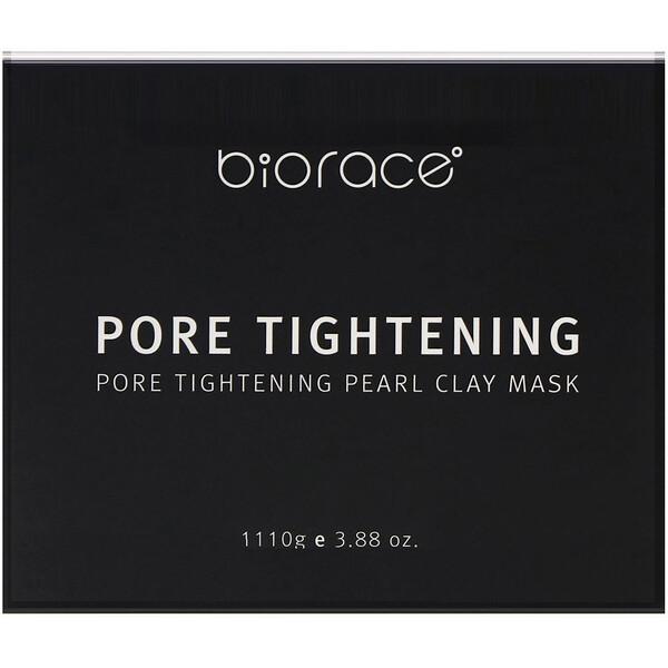 Biorace, Pore Tightening, Pearl Clay Mask, 3.88 oz (110 g)