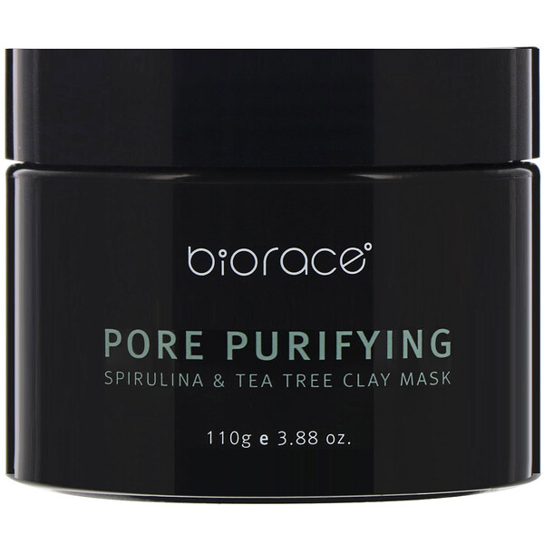 Pore Purifying, Spirulina & Tea Tree Clay Mask, 3.88 oz (110 g)