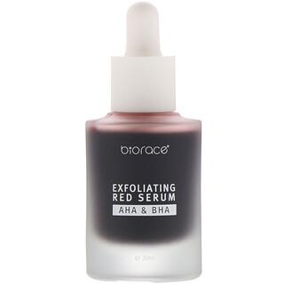 Biorace, Exfoliating Red Serum, AHA & BHA, 1.01 oz (30 ml)