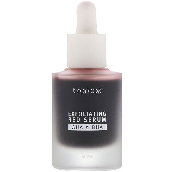 Exfoliating Red Serum, AHA & BHA, 1.01 oz (30 ml)