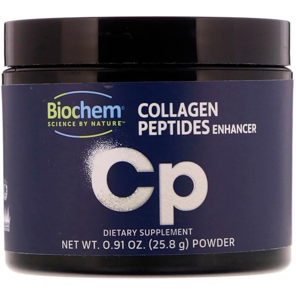 Biochem, مُحَسِّن بيبتيدات الكولاجين 0.91 أونصة (25.8 جم) (Discontinued Item)