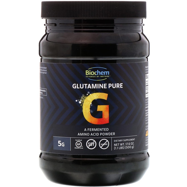 Biochem, Glutamine Pure, 17.6 oz (500 g)