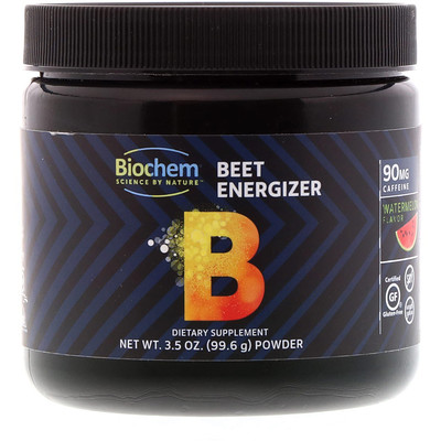 Biochem Beet Energizer, Watermelon Flavor, 3.5 oz (99.6 g)