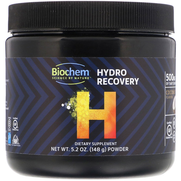 Biochem, Hydro Recovery, Coconut Flavor, 5.2 oz (148 g) (Discontinued Item)