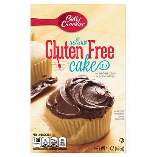 Betty Crocker, Yellow Cake Mix, Gluten Free, 15 oz (425 g)