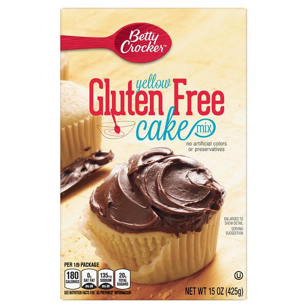 黄蛋糕粉,无麸质,15 盎司(425 克)