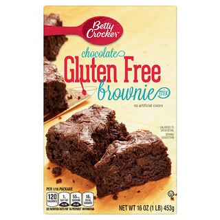 Betty Crocker, Chocolate Brownie Mix, Gluten Free, 16 oz (453 g)