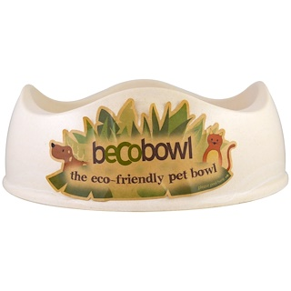 Beco Pets, Eco-Friendly Pet Bowl, Natural, Large, 1 Bowl