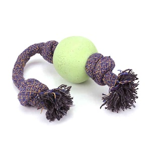 Beco Pets, Eco-Friendly Dog Ball On a Rope, Large, Green, 1 Rope отзывы