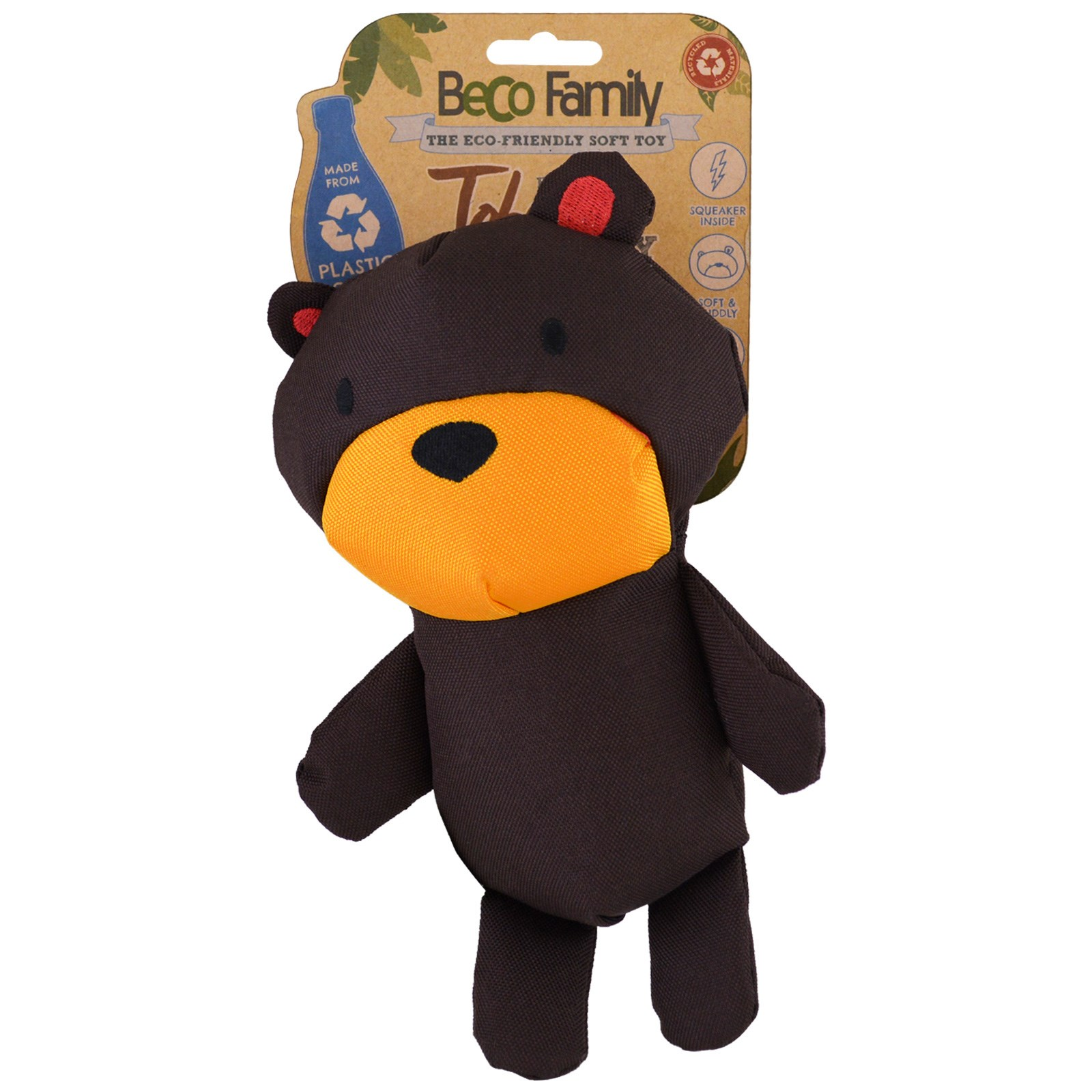 Beco Pets The Eco Friendly Soft Toy For Dogs Medium Toby the