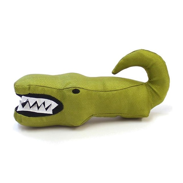 Beco Pets, The Eco-Friendly Plush Toy, For Dogs, Aretha the Alligator, 1 Toy
