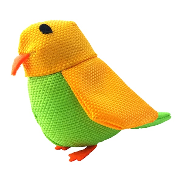 Beco Pets, Eco Friendly Cat Toy, Bertie The Budgie, 1 Toy (Discontinued Item)