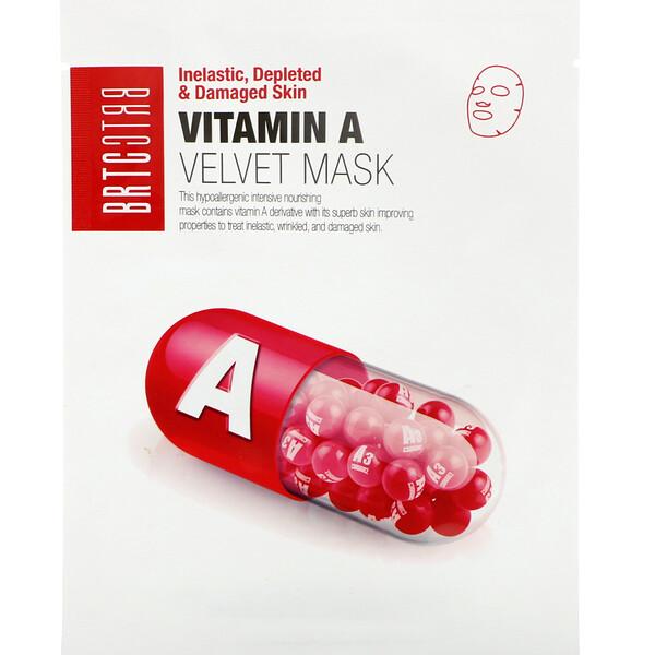 Vitamin A Velvet Mask, 5 Sheets, 25 g Each