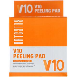 BRTC, V10 Peeling Pad, 80 Pads, 150 ml
