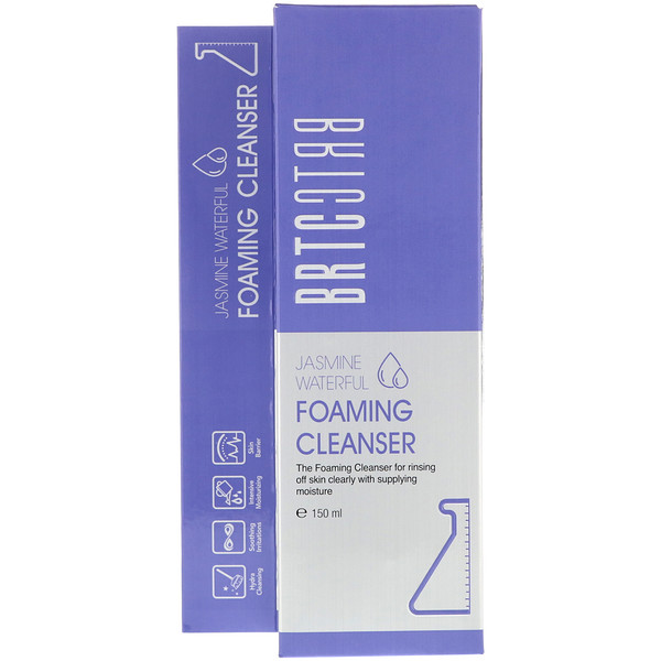 BRTC, Jasmine Waterful Foaming Cleanser, 150 ml