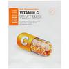 BRTC, Vitamin C Velvet Mask, 5 Masks