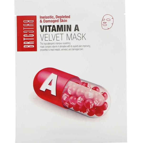 BRTC, Vitamin A Velvet Mask, 1 Mask, 25 g