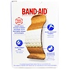 Band Aid, Adhesive Bandages, Tough Strips, 20 Bandages (Discontinued Item)