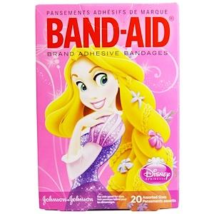 Бэнд Эйд, Adhesive Bandages, Disney Princess, 20 Assorted Sizes отзывы покупателей