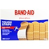 Band Aid, Adhesive Bandages, Tough Strips, 60 Bandages (Discontinued Item)